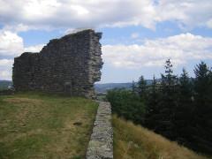 Ruines du château -  Luc - Castle