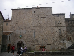 Remparts -  Le Malzieu Ville - medieval walls