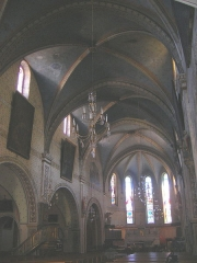 Eglise paroissiale Notre-Dame-de-la-Carce -  Marvejols - Notre Dame de la Carce inside