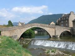 Pont Notre-Dame - Français:   Mende - Pont Notre-Dame - Côté aval