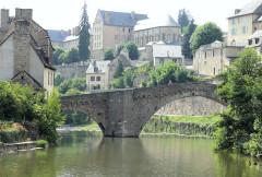 Pont Notre-Dame - Français:   Mende - Pont Notre-Dame - Côté amont