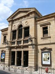 Ancien théâtre, actuellement cinéma le Trianon - Français:   Mende - Ancien théâtre, cinéma Trianon