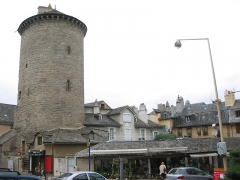 Tour des Pénitents -   Mende, Lozère, France   La Tour de Pénitents un 12 août