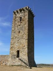 Château de la Garde-Guérin -  Tour de la Garde-Guérin en Lozère (France)