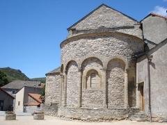 Eglise Saint-Pierre - English:   Prévenchères (Lozère, Fr), apse of the church