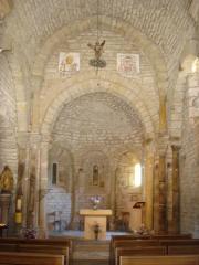 Eglise Saint-Michel de la Garde-Guérin - English: La Garde-Guérin, church interior