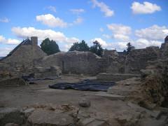 Ancien château d'Apcher -  Apcher (commune Prunières) - archeological site