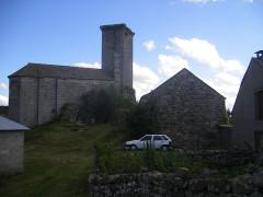 Ancien château d'Apcher -  Apcher - Tour Apcher