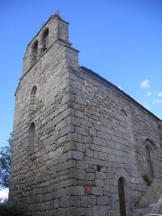 Ancien château d'Apcher -  Apcher - église