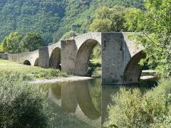 Pont -  Pont sur le Tarn de la commune de Quézac en Lozère