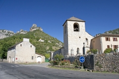 Eglise Saint-Sauveur - Čeština: Église Saint-Sauveur du Rozier