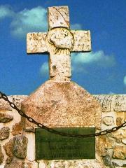 Croix en pierre - Croix des Barrabans dite des Anglais