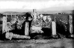 Croix en pierre - Croix des Barrabands en 1905