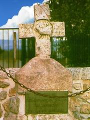 Croix en pierre - Croix des Barrabands