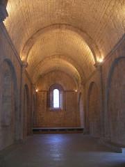 Ancienne abbaye - Français:   Sainte-Enimie, Lozère, France