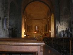 Eglise paroissiale Sainte-Enimie - Français:   Eglise Notre-Dame-du-Gourg, Sainte-Enimie en Lozère (France)