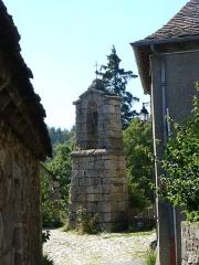 Clocher de tourmente des Sagnes -  Clocher de tourmente du hameau des Sagnes, commune de Saint-Julien-du-Tournel, Lozère, France