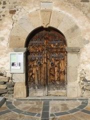 Eglise Saint-Assiscle et Sainte-Victoire de Villeneuve-des-Escaldes - Français:   Eglise de Villeneuve, Angoustrine-Villeneuve-des-Escaldes, P.O., France