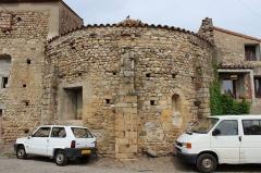 Hameau du Taxo d'Avall - Français:   Taxo d\'Avall - église - abside