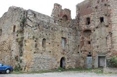Hameau du Taxo d'Avall - Français:   Taxo d\'Avall - église - façade