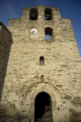 Eglise Saint-Saturnin - English: église paroissiale Saint-Saturnin; Boule-d'Amont; Languedoc-Roussillon, Pyrénées-Orientales, France; ref: PM_045748_F_Boule_d_Amont;;; Photographer: Paul M.R. Maeyaert; www.pmrmaeyaert.eu, © Paul M.R. Maeyaert; pmrmaeyaert@gmail.com; Cultural heritage; Cultural heritage/Romanesque; Cultural heritage/Romanesque Catalonia; Europe/France/Boule d'Amont; LoCloud selectie