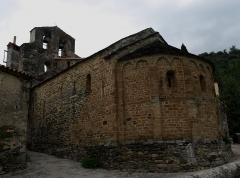 Eglise Saint-Saturnin - Español: La Iglesia de Saint-Saturnin de Boule-d'Amont, es un templo románico construido en el siglo XI. Está ubicada en el centro de Boule-d'Amont, Francia.