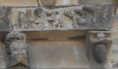 Eglise Sainte-Marie - Català: L'anunci dels àngels als pastors, de Santa Maria del Voló