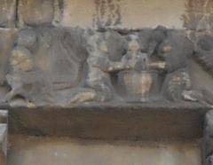 Eglise Sainte-Marie - Català: El bany de l'Infant, de Santa Maria del Voló