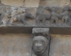 Eglise Sainte-Marie - Català: La Fugida a Egipte, a Santa Maria del Voló