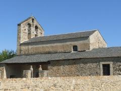 Eglise Saint-Romain de Caldegas - Français:   Eglise de Caldégas, Bourg-Madame, P.O., France