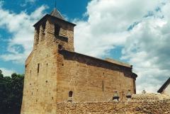 Eglise Saint-Martin de Hix - Français:   France - Cerdagne - Église Saint-Martin d\'Hix
