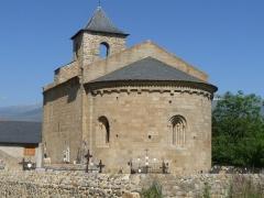 Eglise Saint-Martin de Hix - Français:   Eglise d\'Hix, Bourg-Madame, P.O., France