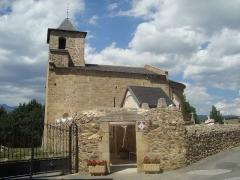 Eglise Saint-Martin de Hix - Español: Iglesia románica de Sant Martí d'Hix, Bourg-Madame (Languedoc-Rosellón, Francia)