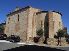 Eglise Saint-Cyr-et-Sainte-Julitte - Català: L'església de Sant Quirc i Santa Julita