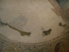 Eglise Saint-Cyr-et-Sainte-Julitte - Català: Restes de pintures murals romàniques