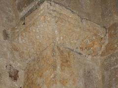 Eglise Saint-Cyr-et-Sainte-Julitte - Català: Capitells de l'absis 1 des del nord