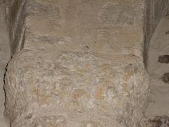 Eglise Saint-Cyr-et-Sainte-Julitte - Català: Quart capitell de l'absis, des del nord