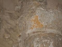 Eglise Saint-Cyr-et-Sainte-Julitte - Català: Cinquè capitell de l'absis des del nord
