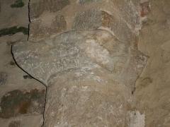 Eglise Saint-Cyr-et-Sainte-Julitte - Català: Sisè capitell de l'absis des del nord