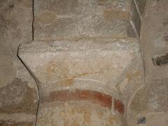 Eglise Saint-Cyr-et-Sainte-Julitte - Català: Setè capitell de l'absis des del nord