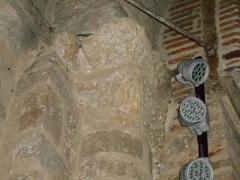 Eglise Saint-Cyr-et-Sainte-Julitte - Català: Onzè capitell de l'absis des del nord