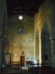 Eglise Saint-Cyr-et-Sainte-Julitte - Català: La nau central, des de l'absis