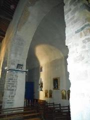 Eglise Saint-Cyr-et-Sainte-Julitte - Català: Col·lateral nord de l'església