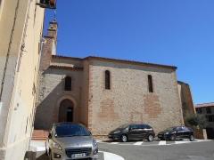 Eglise Saint-Cyr-et-Sainte-Julitte - Català: Façana meridional de l'església