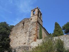 Eglise Notre-Dame - Català: Façana oest de Santa Maria del Mercadal