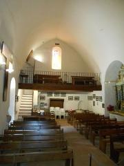 Eglise Notre-Dame - Català: Meitat de ponent de la nau