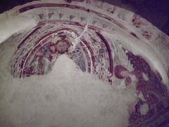 Eglise Sainte-Marie de l'Ecluse-Haute -  fresque dans le choeur