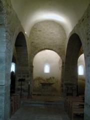 Eglise Sainte-Marie de l'Ecluse-Haute -  nef de l'église