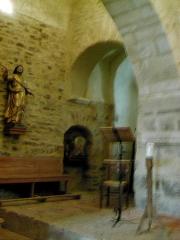 Eglise Sainte-Marie de l'Ecluse-Haute -  arcs entre 2 nefs