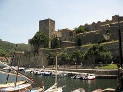 Château - Català: Castell Reial de Cotlliure